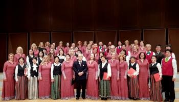 """Dziesmu svētkos Latvijā piedalīsies arī Tartu Universitātes kamerkoris un Japānas """"Gaisma"""""""