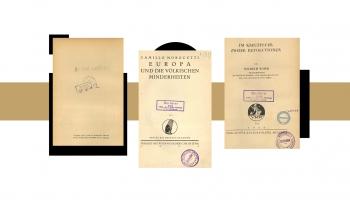 Vai zini, kā Latvijas Republikas Saeimas bibliotēka atguva nacistu nolaupītās grāmatas?
