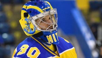 Hokeja vārtsargs Mareks Mitens – no Ventspils līdz ASV koledžu turnīra virsotnei
