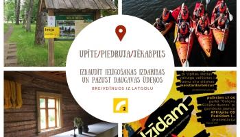 Izbaudīt ielīgošanas izdarības un pazust Daugavas ūdeņos