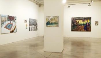 Vilnis Vējš un Ieva Iltnere par Envijas izstādi galerijā Māksla XO