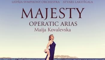 """Maija Kovaļevska, LSO un diriģents Atvars Lakstīgala albumā """"Majesty"""""""