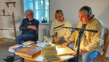 Radio mazā lasītava ceļo. Tiekamies ar lasītājiem Melānijas Vanagas muzejā Amatā