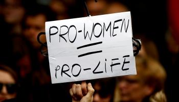 Право на аборт: массовые протесты в Польше