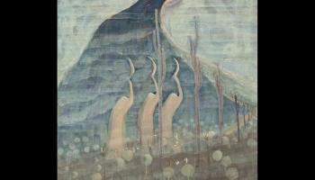 Mikalojus Konstantins Čurļonis. Pasaka. Triptihs. 1907. gads