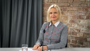 """Santa Purgaile: Latvija ir pelnījusi neatrasties """"pelēkajā sarakstā"""""""