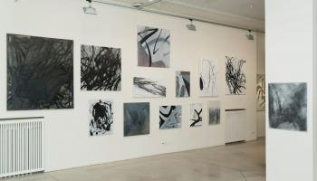 "Galerijā ""Māksla XO"" aplūkojama Ivara Heinrihsona izstāde ""Haosa teorija"""