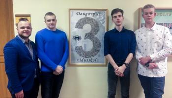Daugavpils jaunieši uzvar biznesa simulācijas spēlē