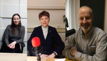 LMB nominanti. Vērtē klausītāji Gunda Miķelsone, Vija Zaiga Kluša un Pauls Raudseps