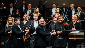 LNSO un LSO noslēdz sezonu, Kalnciemas un ērģeļu jubileja, vibrofona un klavieru duets