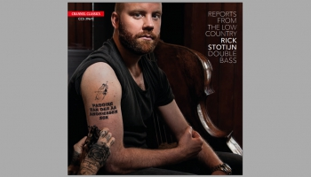 """Kontrabasista Rika Stoteina CD """"Reports from the Low Country"""" (2019)"""