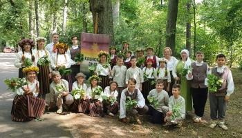 Iepazināmies ar  Valgundes pagasta Kalnciema vidusskolas 5.-9.klašu deju kolektīvu