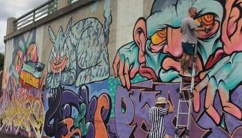 Ielu māksla pilsētā