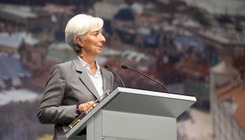 Eiropas Centrālās bankas vadītājas amatā stāsies Kristīne Lagarda