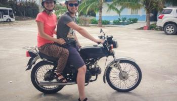 Автостопом вокруг света: из Вьетнама в Камбоджу на мотоцикле