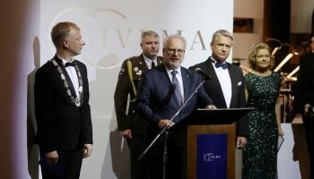 Jāzepa Vītola Latvijas Mūzikas akadēmijas 100. jubilejas koncerts Lielajā ģildē