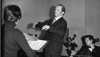 Ludviga van Bēthovena mūzika diriģenta Leonīda Vīgnera interpretācijā
