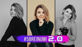 #5BREINUMI 2.0 & Dace Blūma-Vincēviča un viņas buduāra fotosesija