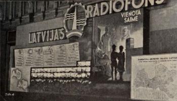 1941. gada jūlijs. Cilvēki jāaicina glābt radio!