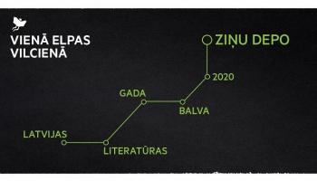 """LALIGABAs ceremoniju veidos """"Literatūre"""" radošā komanda. Ieceres atklāj Gustavs Terzens"""