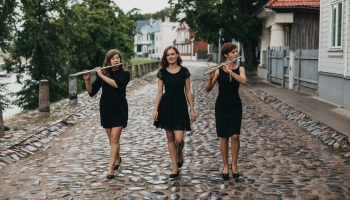 """Trio """"Metamorfoze"""" mūziķes: Mums patīk līdzvērtīga saspēle"""
