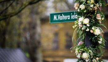 Par Miķeļa Valtera ielu Liepājā stāsta Inga Saulīte