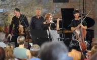 """Klavieru kvartets """"RIX"""" koncertā """"Pēteris Vasks ielūdz. Vasara"""" Mazajā Mežotnes pilī"""