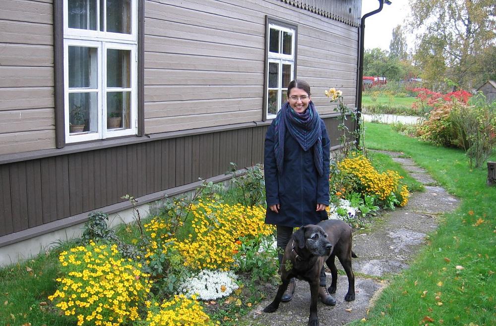 Bioloģe Rūta Abaja vada sēklu maiņas punktu Kurzēmē un apgūst permakultūru