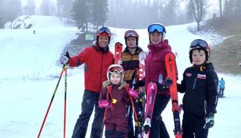 Tiekamies ar Ģermaņu ģimeni - kaislīgiem ziemas mīļotājiem