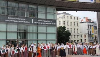 Briselē norisinājās Eiropas Latviešu kultūras svētki