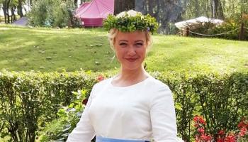 """""""Anima Solla"""" dziedātājas Agnetas Krilovas-Bērziņas  rīta sveiciens"""