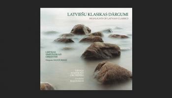 """Liepājas Simfoniskais orķestris un Imants Resnis albumā """"Latviešu klasikas dārgumi"""""""