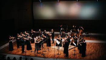 Vineta Sareika  un Latvijas Nacionālais simfoniskais orķestris Lielajā ģildē