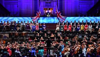 BBC Promenādes noslēguma koncerts Karaliskajā Alberta zālē Londonā