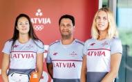 Pirms Olimpiādes saruna ar Tīnu Lauru Graudiņu un Anastasiju Kravčenoku