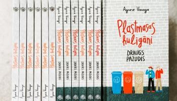 """Agneses Vanagas grāmata """"Plastmasas huligāni"""" nominēta Jāņa Baltvilka balvai"""