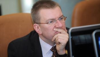 Министр иностранных дел Эдгар Ринкевич об Ираке, Лукашенко, Лепсе и Brexit'е