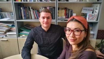 """""""Klasikā"""" ciemojas klavieru duets Roksana Tarvide un Kaspars Bumbišs"""