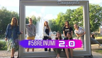 #5BREINUMI 2.0 - Daugavpils jaunieši runā - Garais gads. Pandēmijas sprostā