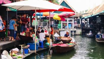Автостопом вокруг света: нескучный Бангкок