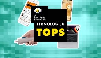 Tehnoloģiju topā: Lāzeršprice, MacBook Pro un lūgšanu lietotne