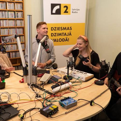 "Grupai ""Franco Franco"" otrā dziesma latviešu valodā - ""Sirdsdejo"""