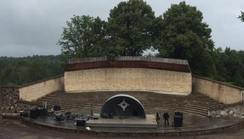 Gaidām Festivālu VĀRTI Ventspils novada Popes brīvdabas estrādē