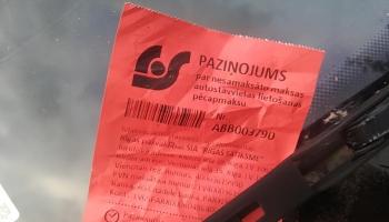 """""""Недоразумение"""" от Rīgas satiksmе: заплати за парковку и получи штраф"""