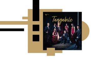 """Jevgēnijs Čepoveckis un """"Oberton String Octet"""" Pjacollas mūzikas albumā """"Tangabile"""""""