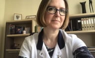 Infektoloģe un hepatoloģe Ieva Tolmane