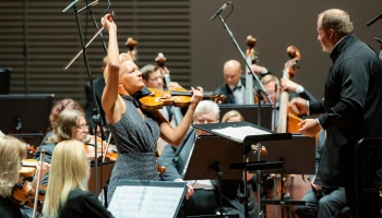 """Vineta Sareika, Liepājas Simfoniskais orķestris un Atvars Lakstīgala """"Lielajā dzintarā"""""""