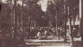Vai zini, ka 1905. gada vasarā Horna dārzā notika latviešu komponistu mūzikas koncerts?