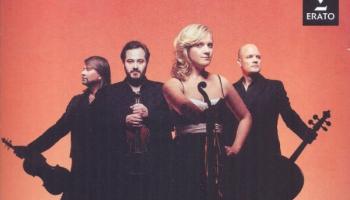 "Sensānsa Pirmais čellkoncerts un ""Artemis Quartet"" Mendelszona albums"