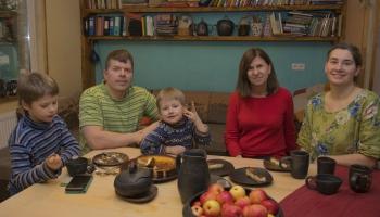 Priednieku ģimenē bērniem māca cieņpilnu attieksmi pret dabu
